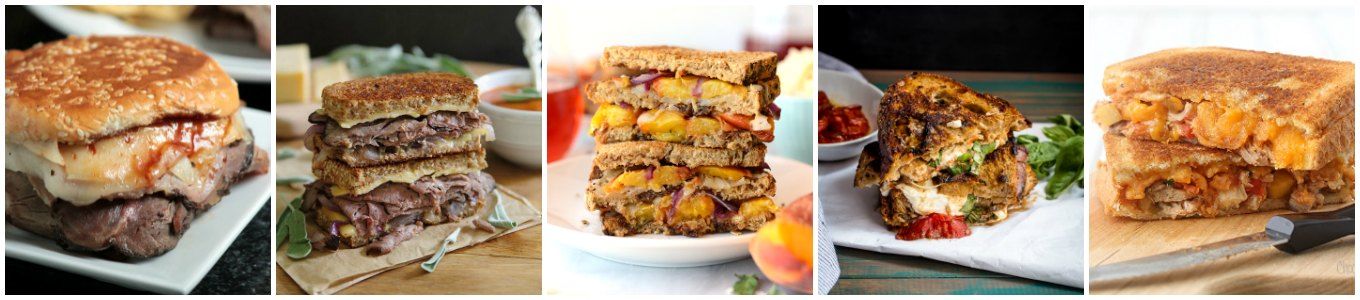 Here are 55 gourmet grilled cheese recipes to celebrate Grilled Cheese Month. Sweet, savory, or a mix of both, you'll find one you love here.