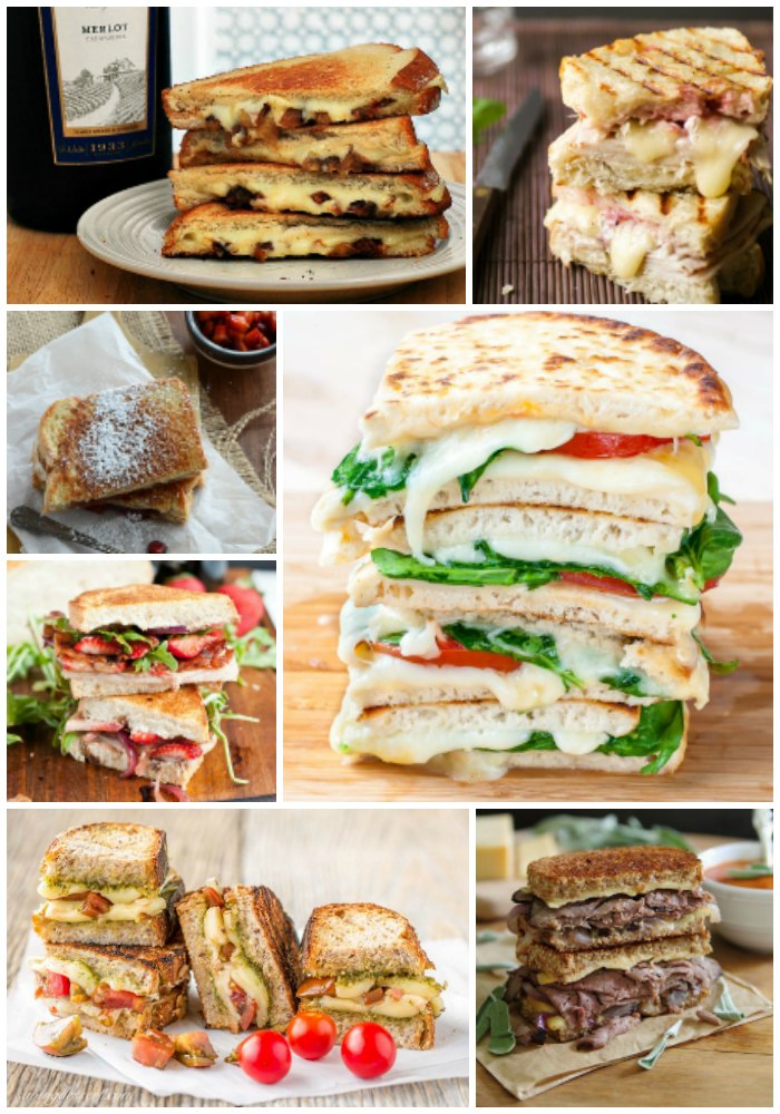 55 Gourmet Grilled Cheese Recipes
