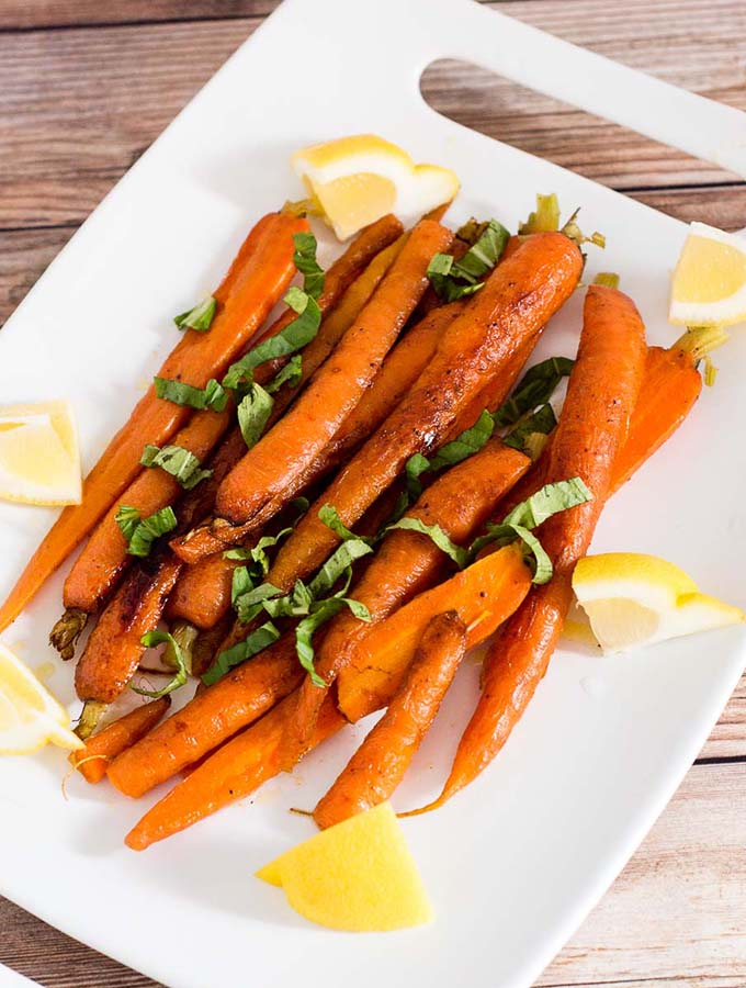 Butter-Braised Spring Carrots