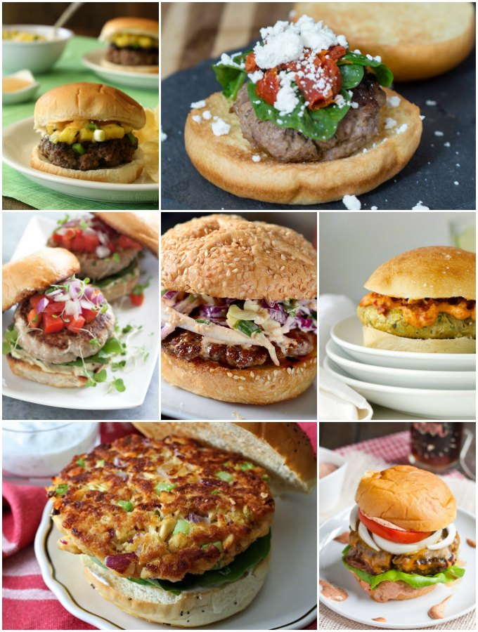 90 Burger Recipes