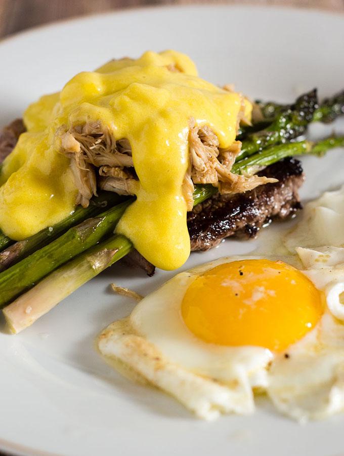 Steak and Eggs Oscar Style #BrunchWeek