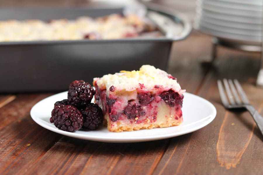 Blackberry Pie Bars by Kylee Cooks