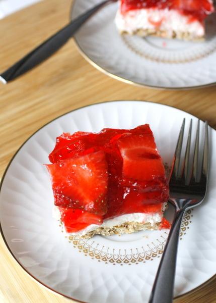 Strawberry Pretzel Dessert by What Megan's Making