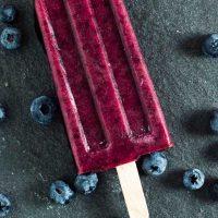 Frozen Blueberry Pops