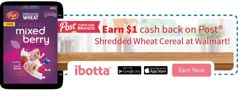 Shredded Wheat Mixed Berry Ibotta offer