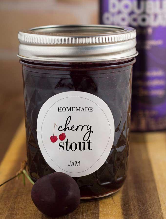 Cherry Stout Jam #FarmersMarketWeek