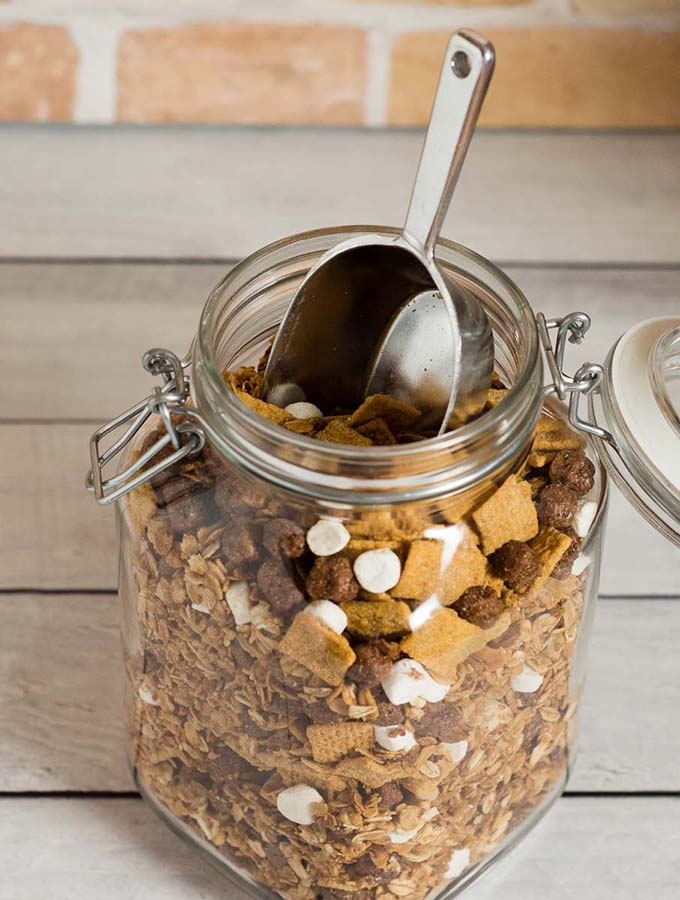 S'mores Granola #StockUpWithPost