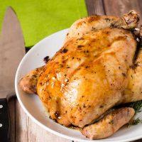 Calvados-Glazed Chicken