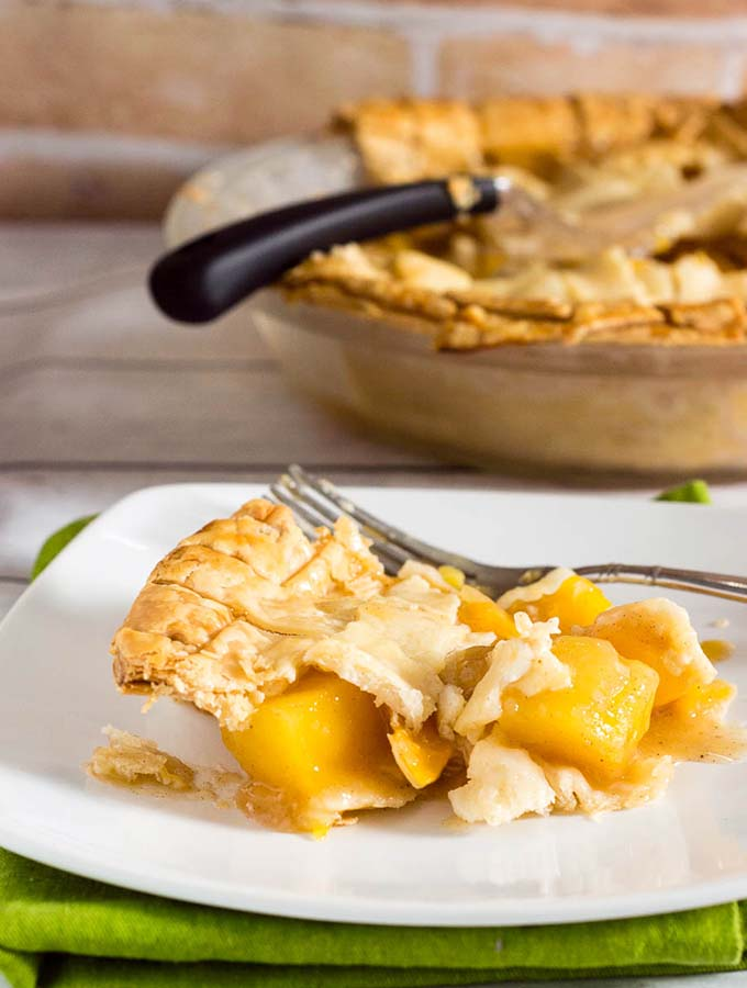 Mango Peach Pie #OXOGoodCookies