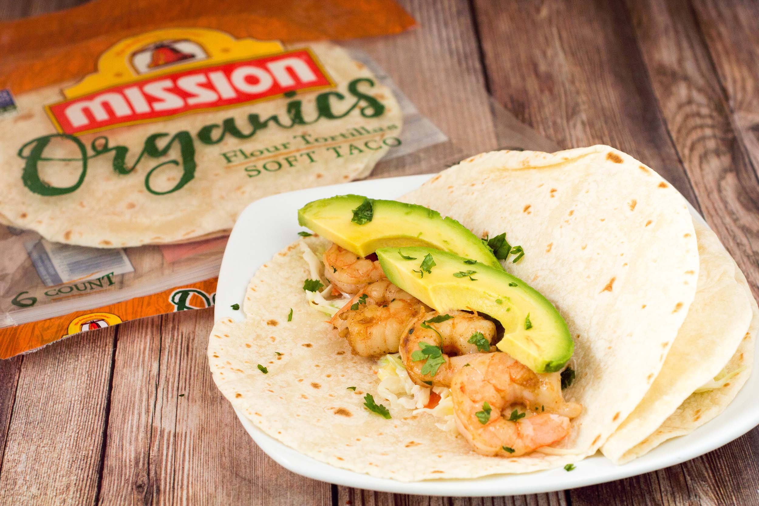 With a touch of avocado and pineapple slaw for some sweetness, these chipotle lime shrimp tacos are the perfect combination of spicy and fruity!