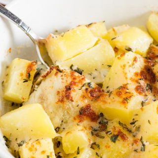 Fennel is often-overlooked fall vegetable with a slight licorice flavor. Cream-braised fennel and potatoes is a decadent side dish perfect for Thanksgiving.