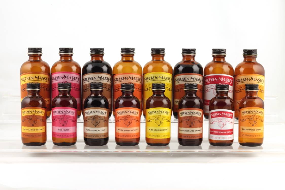 Nielsen-Massey's pure extracts and flavors