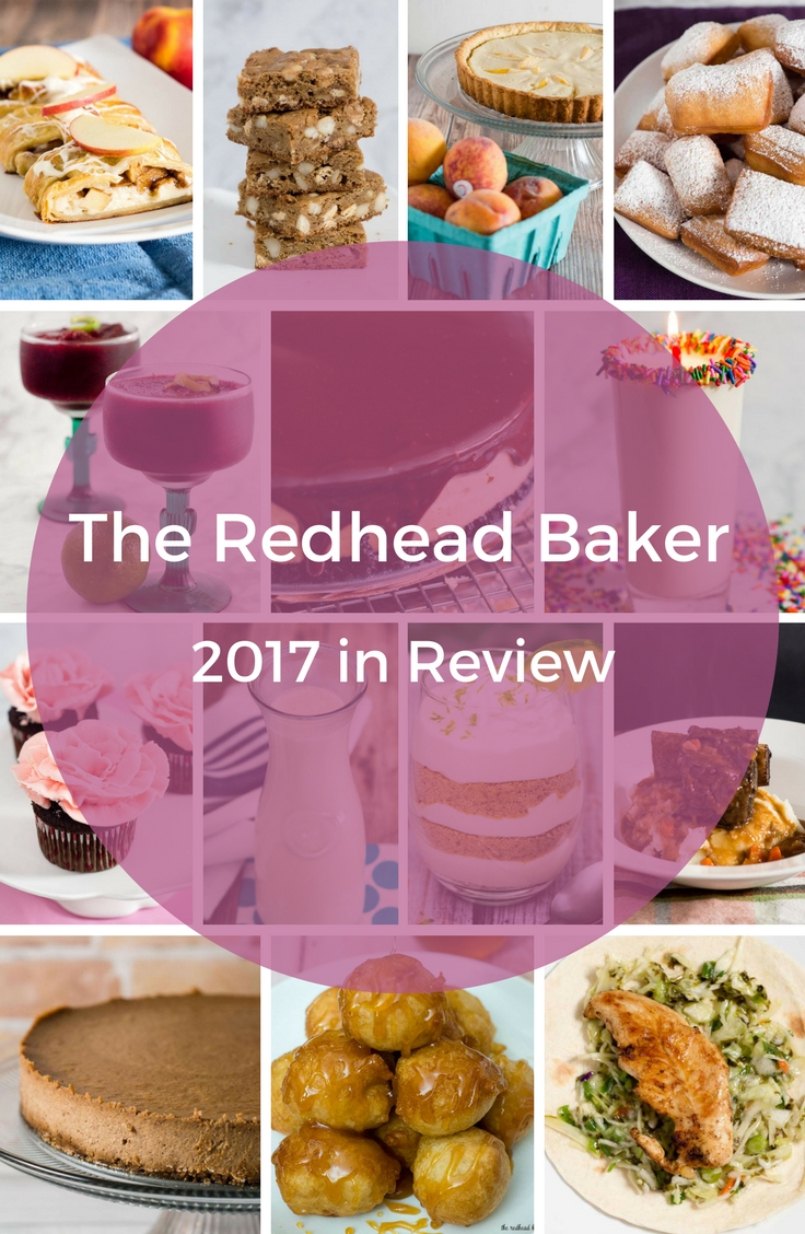 The Redhead Baker 2017 Year in Review