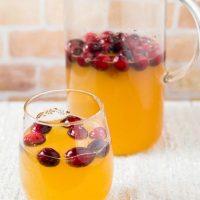 Cranberry Apple Cider Sparkler