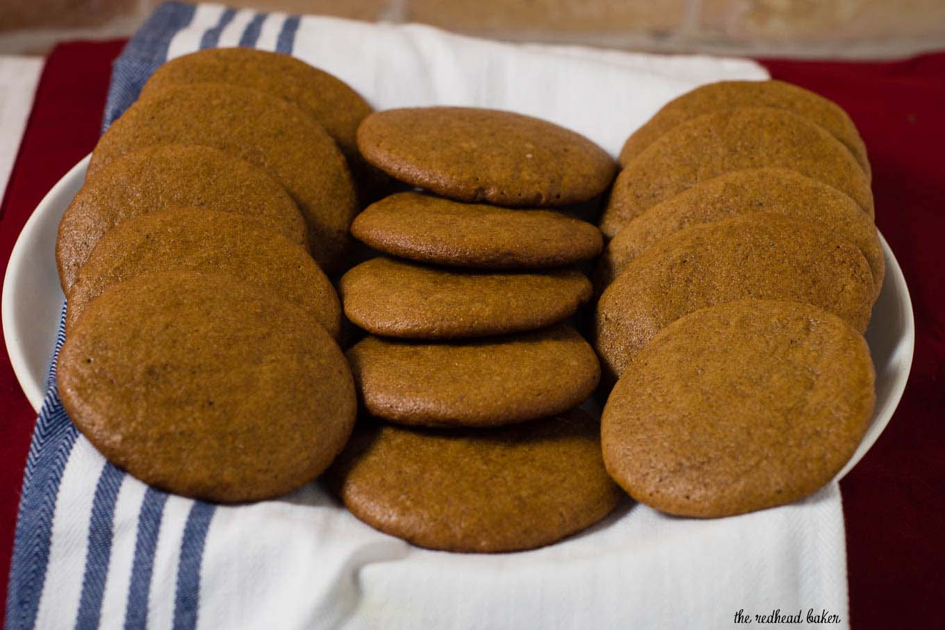 Pepparkakor Swedish Ginger Cookies By The Redhead Baker