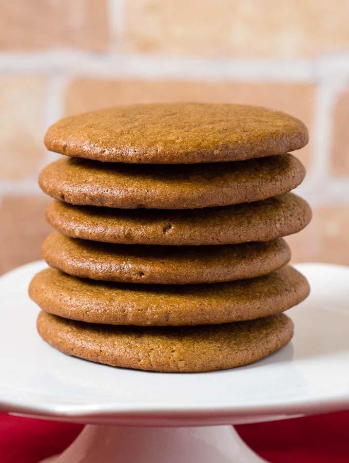 Pepparkakor (Swedish Ginger Cookies) #ChristmasCookies #InternationalCookies