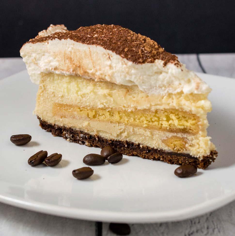 Tiramisu Cheesecake #BakingBloggers