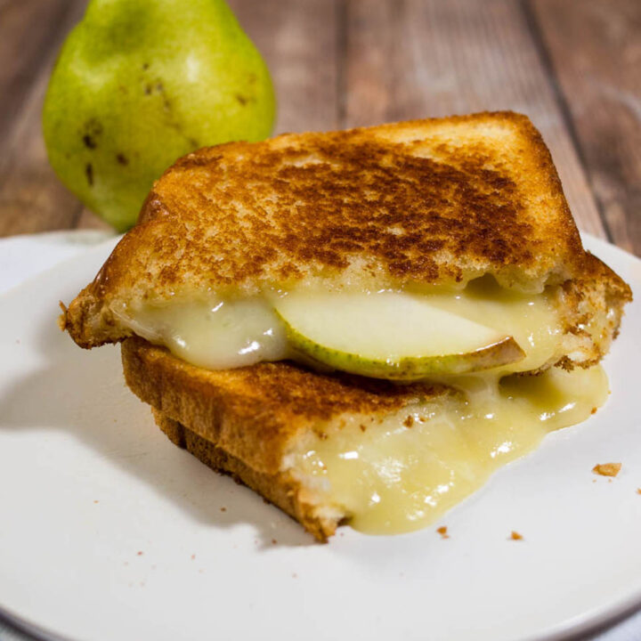 Taleggio Pear Grilled Cheese