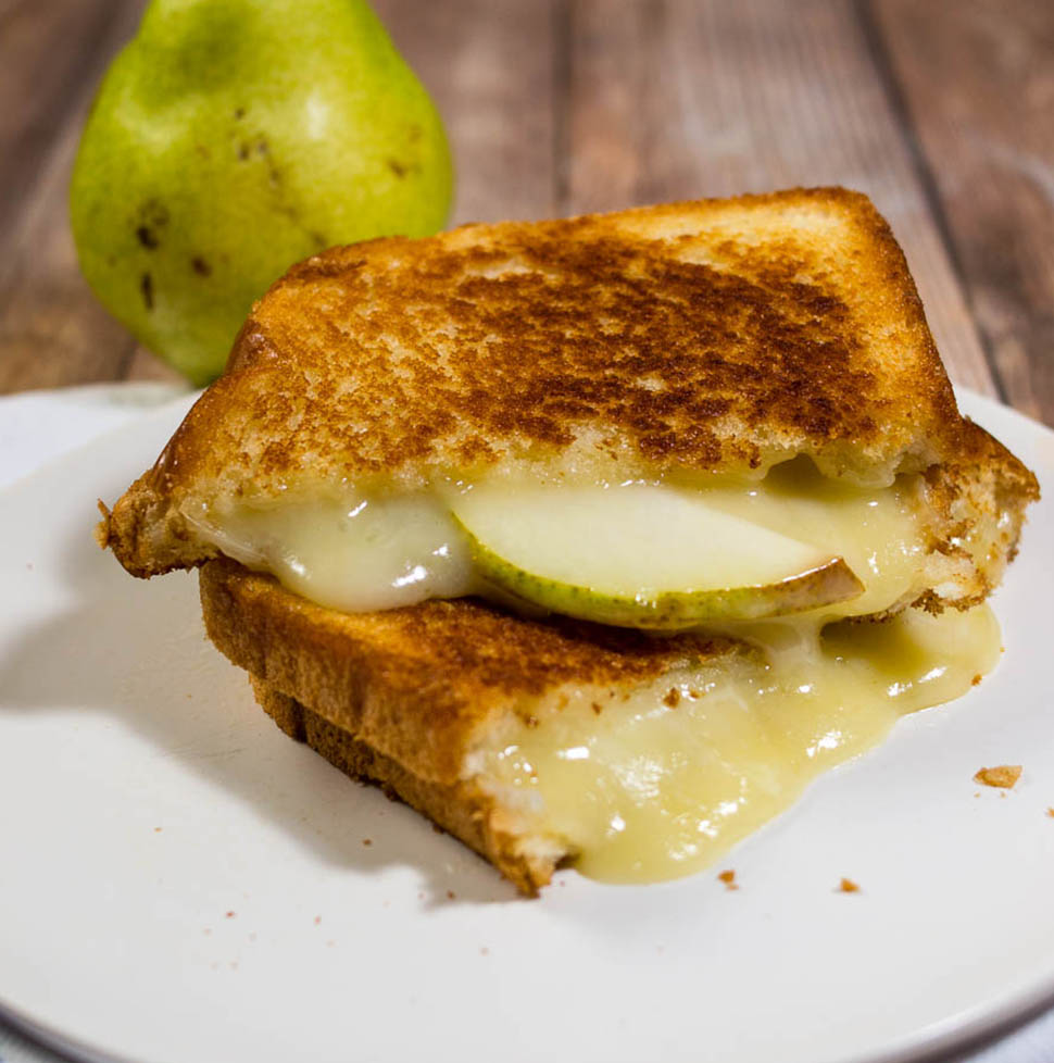 Taleggio Pear Grilled Cheese