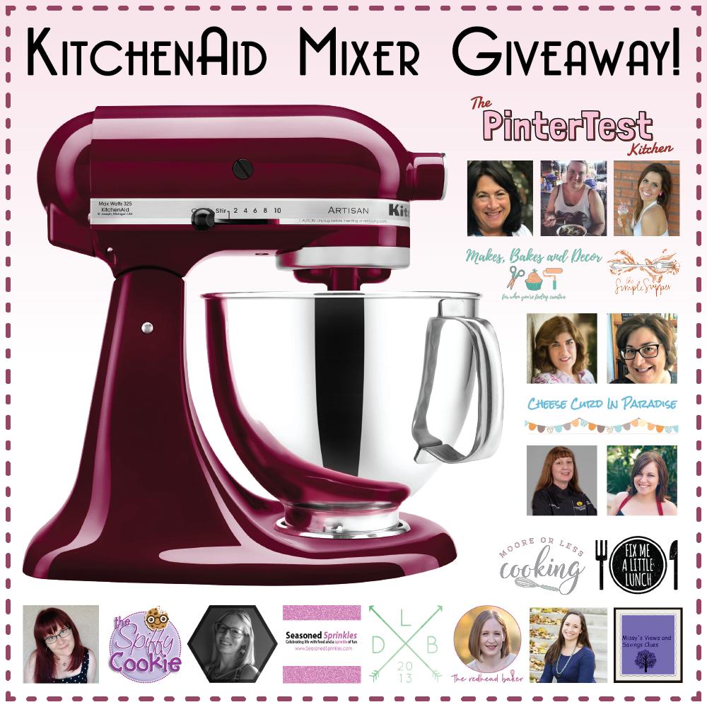 KitchenAid Mixer Giveaway with PinterTest Kitchen