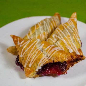 Can you really eat pie for breakfast? Yes! Cherry turnovers, a common breakfast pastry, are like little handheld pies in a flaky puff pastry crust.