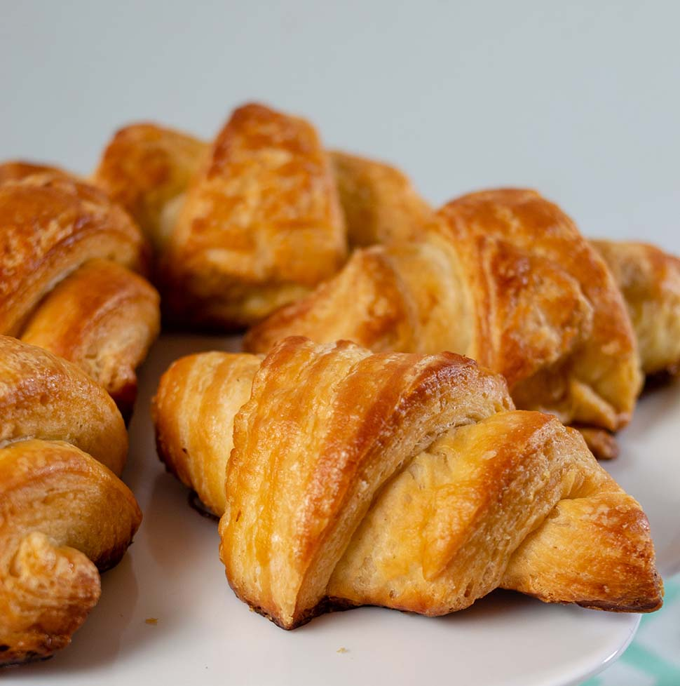 Mini Butter Croissants #BastilleDayRecipes