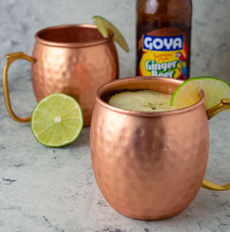 Apple Cider Mules #AppleWeek