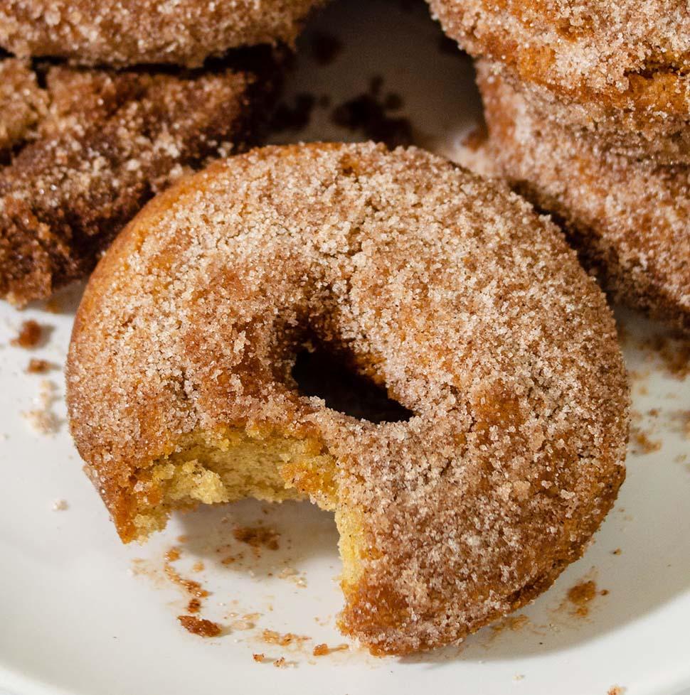Classic Apple Cider Doughnuts #AppleWeek