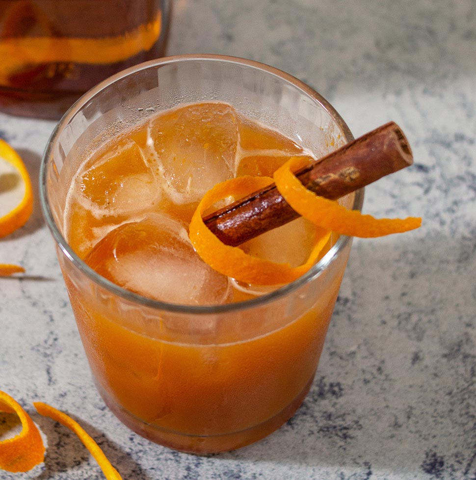Pumpkin Old-Fashioned #PumpkinWeek